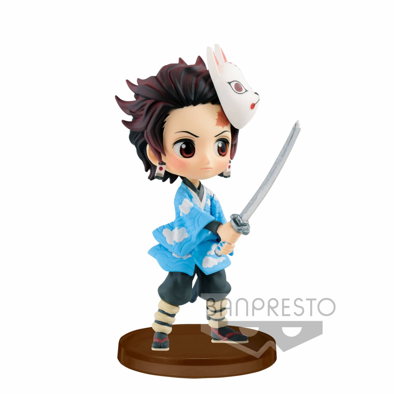 Demon Slayer Kimetsu no Yaiba Q Posket Petit Mini Figure Tanjiro Kamado 7 cm
