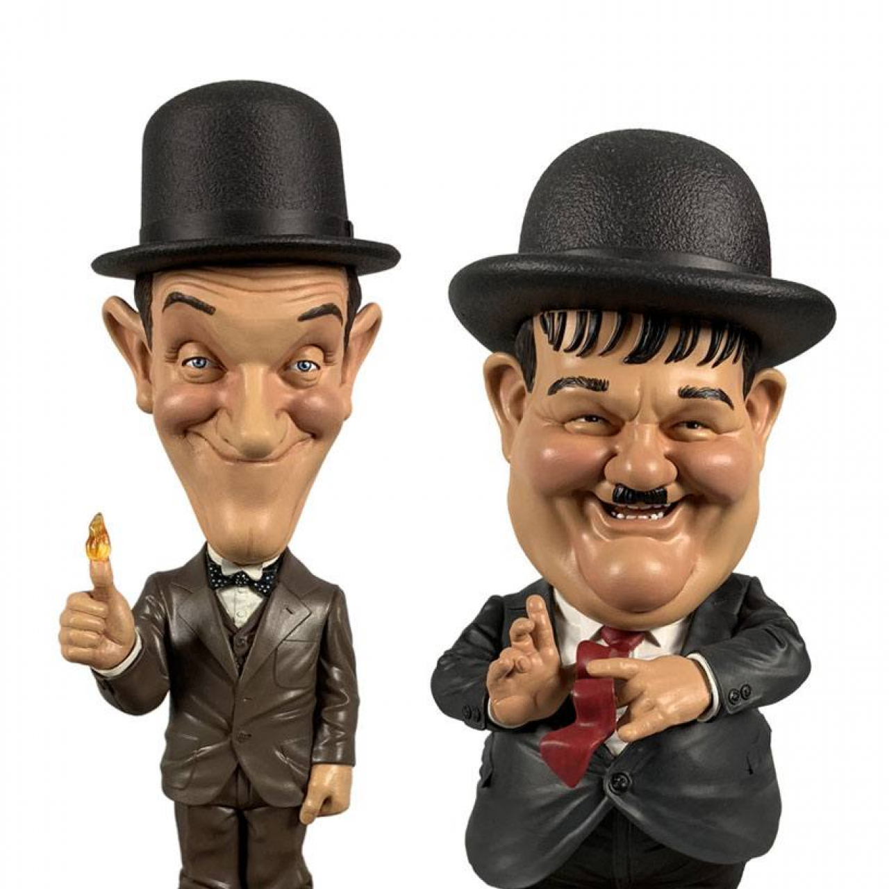 Laurel and Hardy Mini Bobble-Head 2-Pack Suits 8 cm