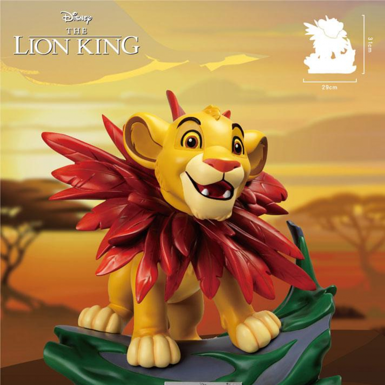 Disney (The Lion King) Master Craft Statue Little Simba 31 cm