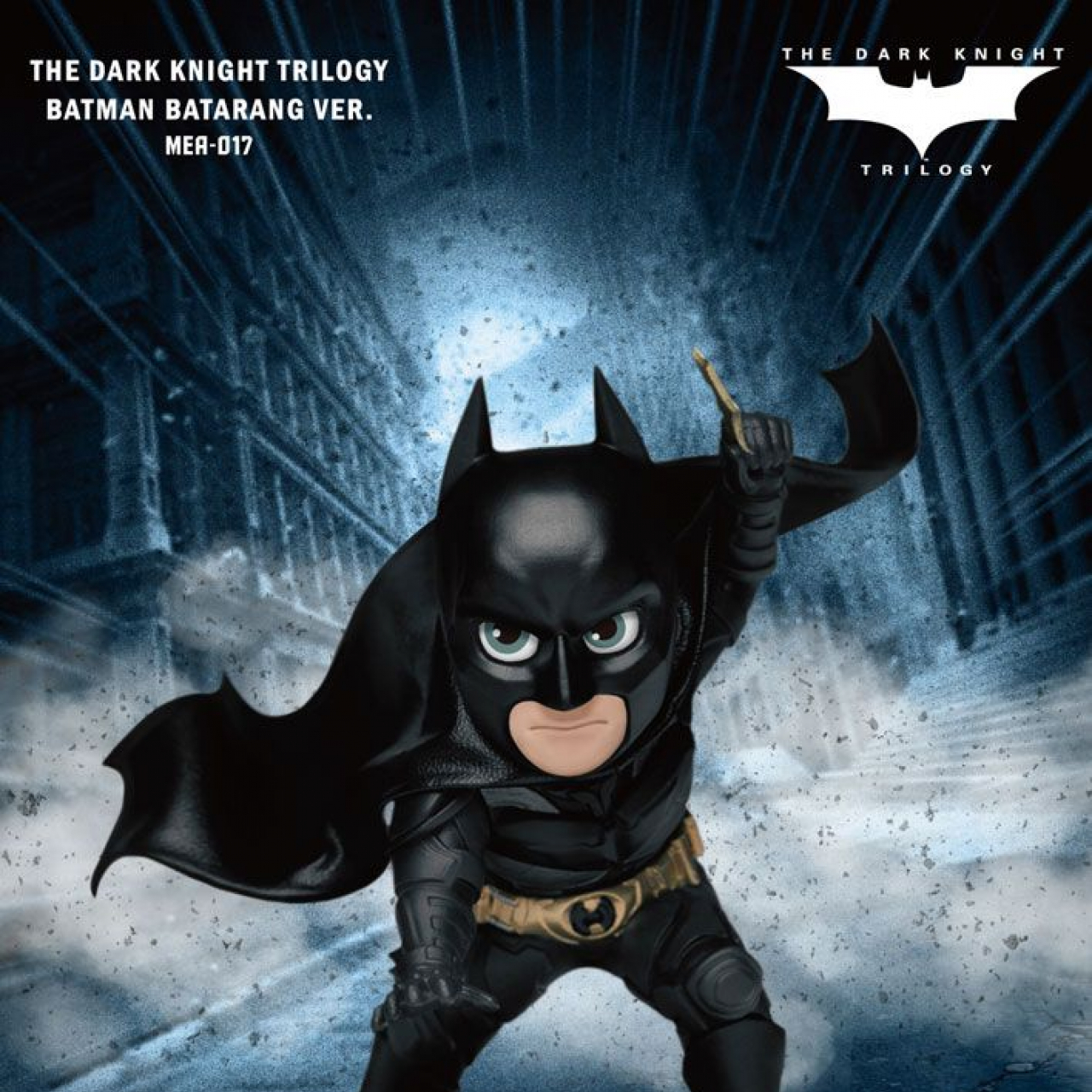 Dark Knight Trilogy Mini Egg Attack Figure Batman Batarang Ver. 8 cm