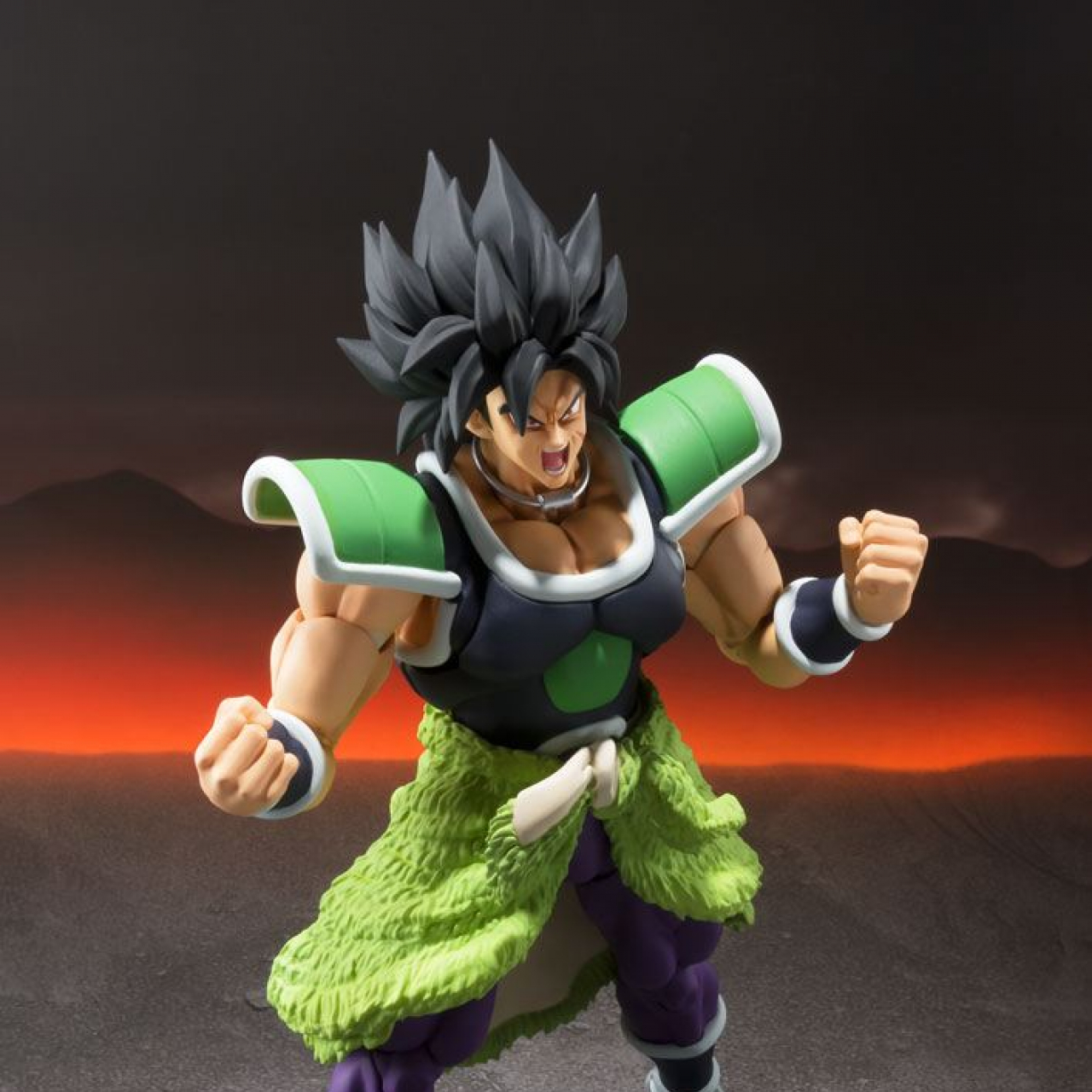 Dragonball Super Broly S.H. Figuarts Action Figure Broly 19 cm