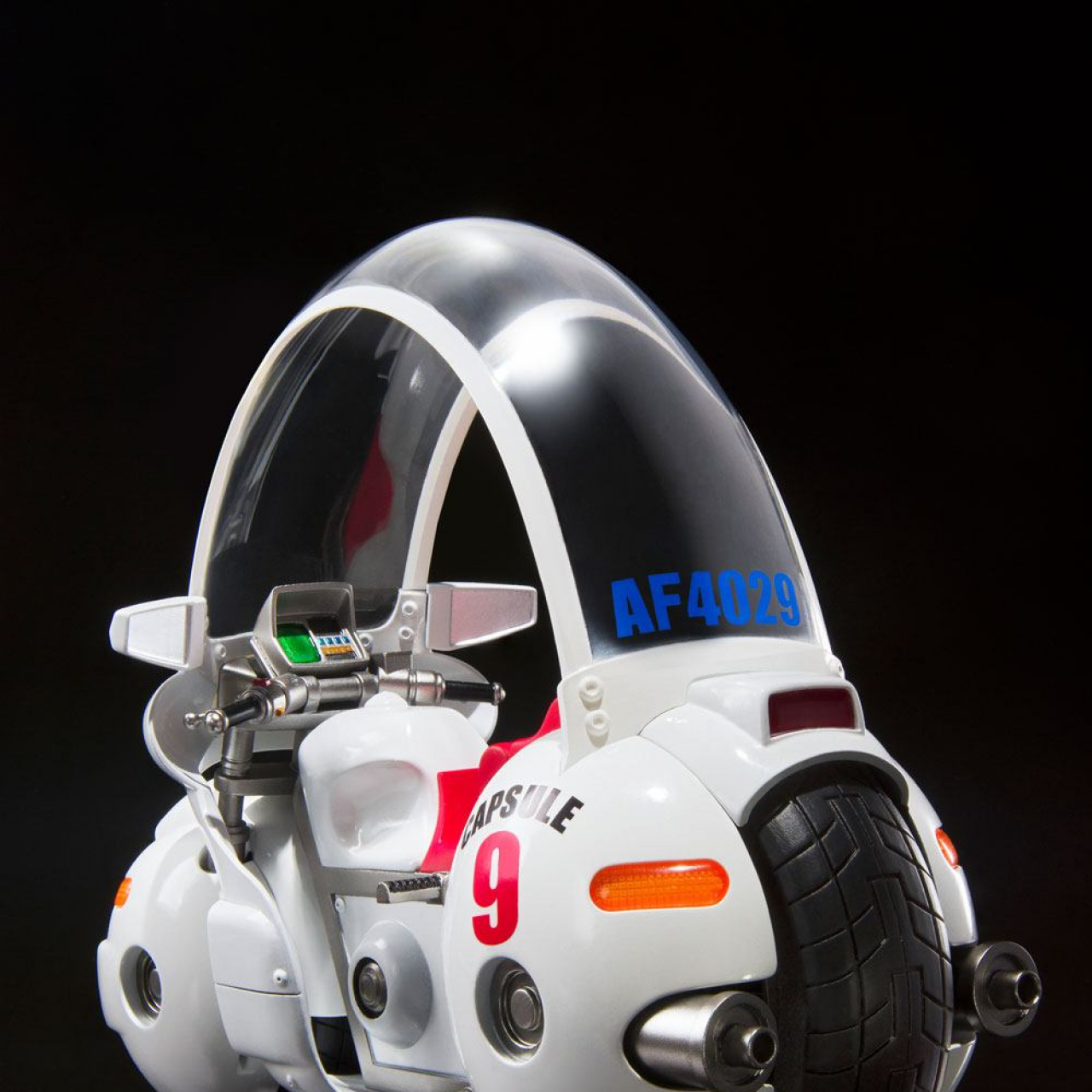 Dragon Ball S.H. Figuarts Vehicle with Figure Bulma's Motorcycle Hoipoi Capsule No. 9 17 cm