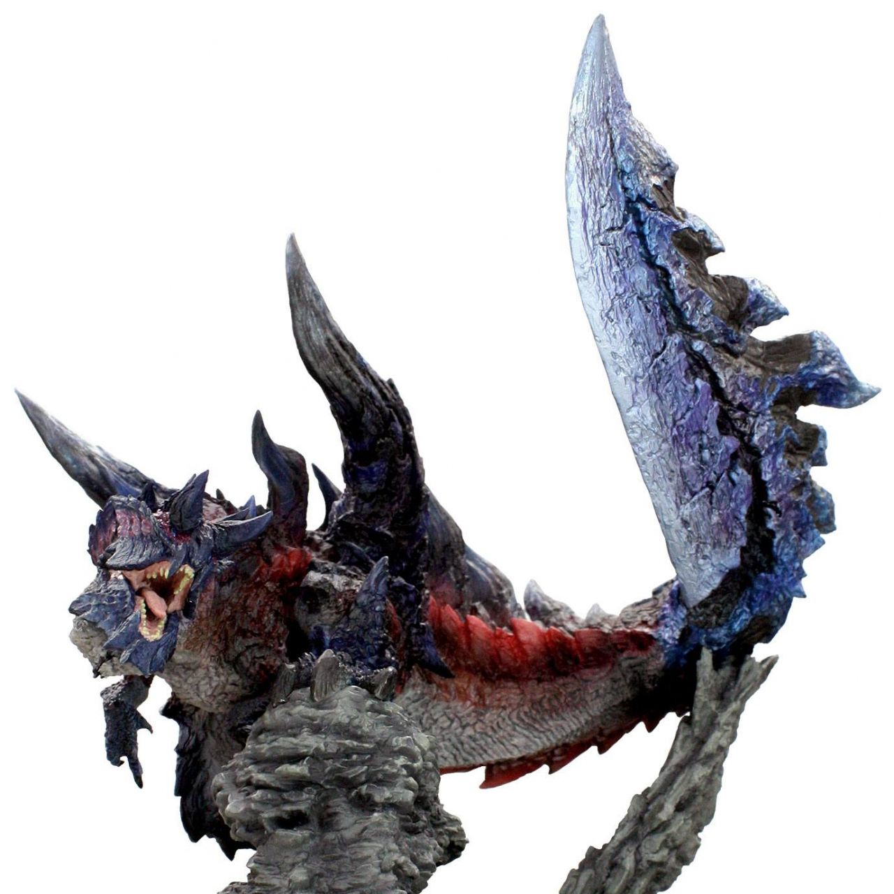 Monster Hunter PVC Statue CFB Creators Model Glavenus Resell Version 20 cm
