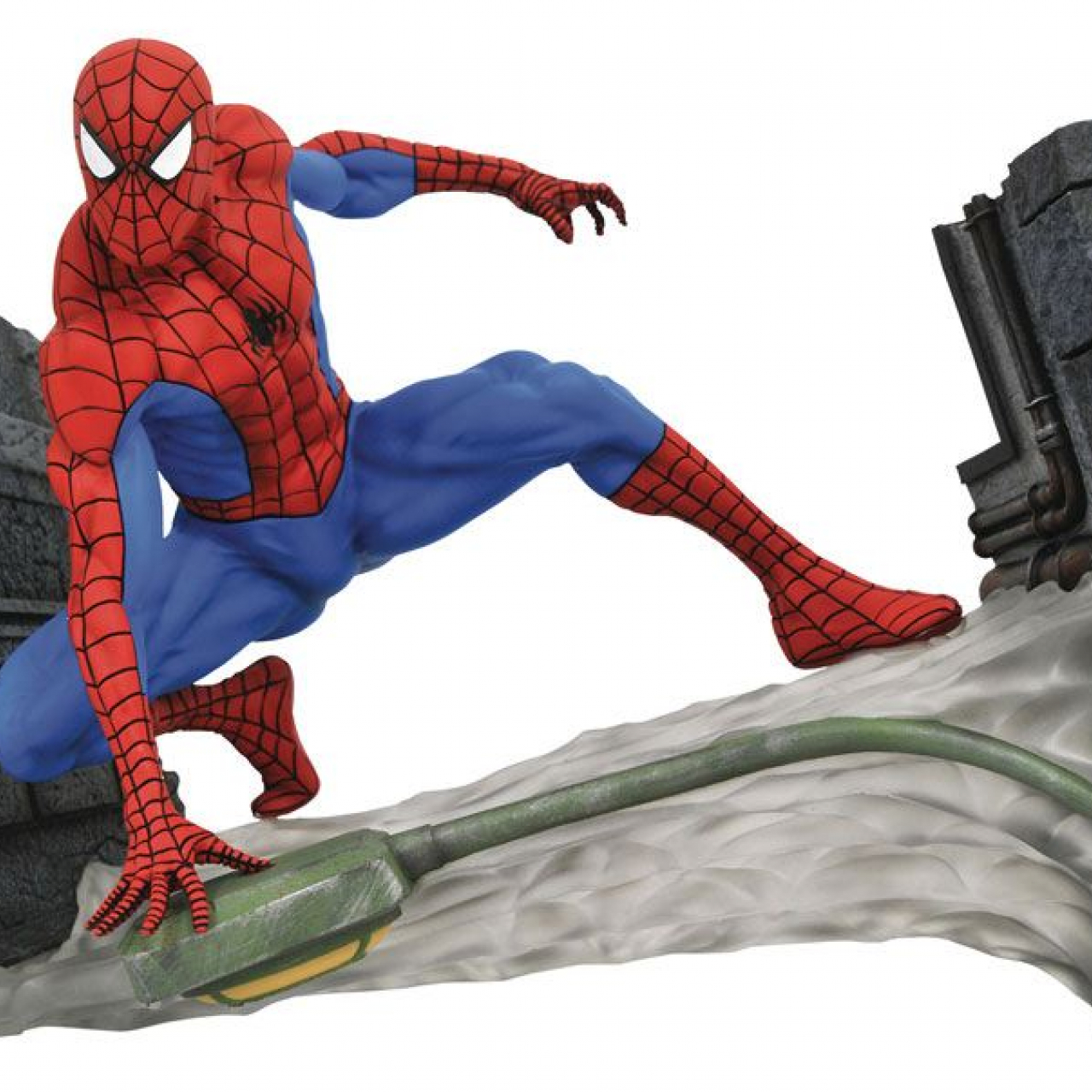 Marvel Comic Gallery PVC Statue Spider-Man Webbing 18 cm