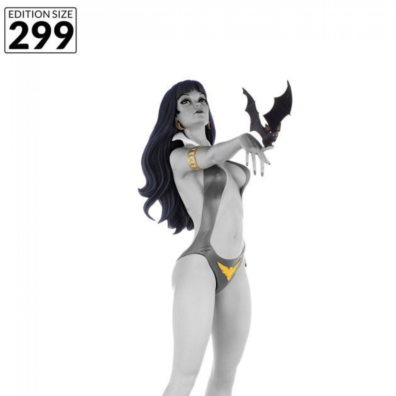 Women of Dynamite Statue 1/6 Vampirella 50th Anniversary (Black & White Edition) 32 cm