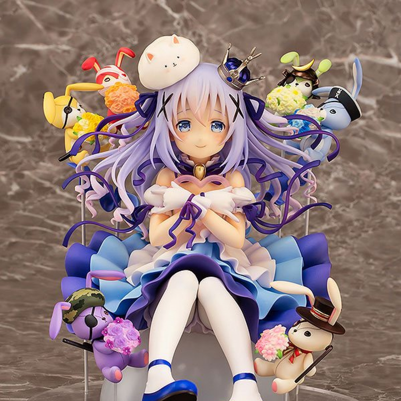 Is the Order a Rabbit: Chino & Rabbit Dolls (18cm, 1/7 scale)