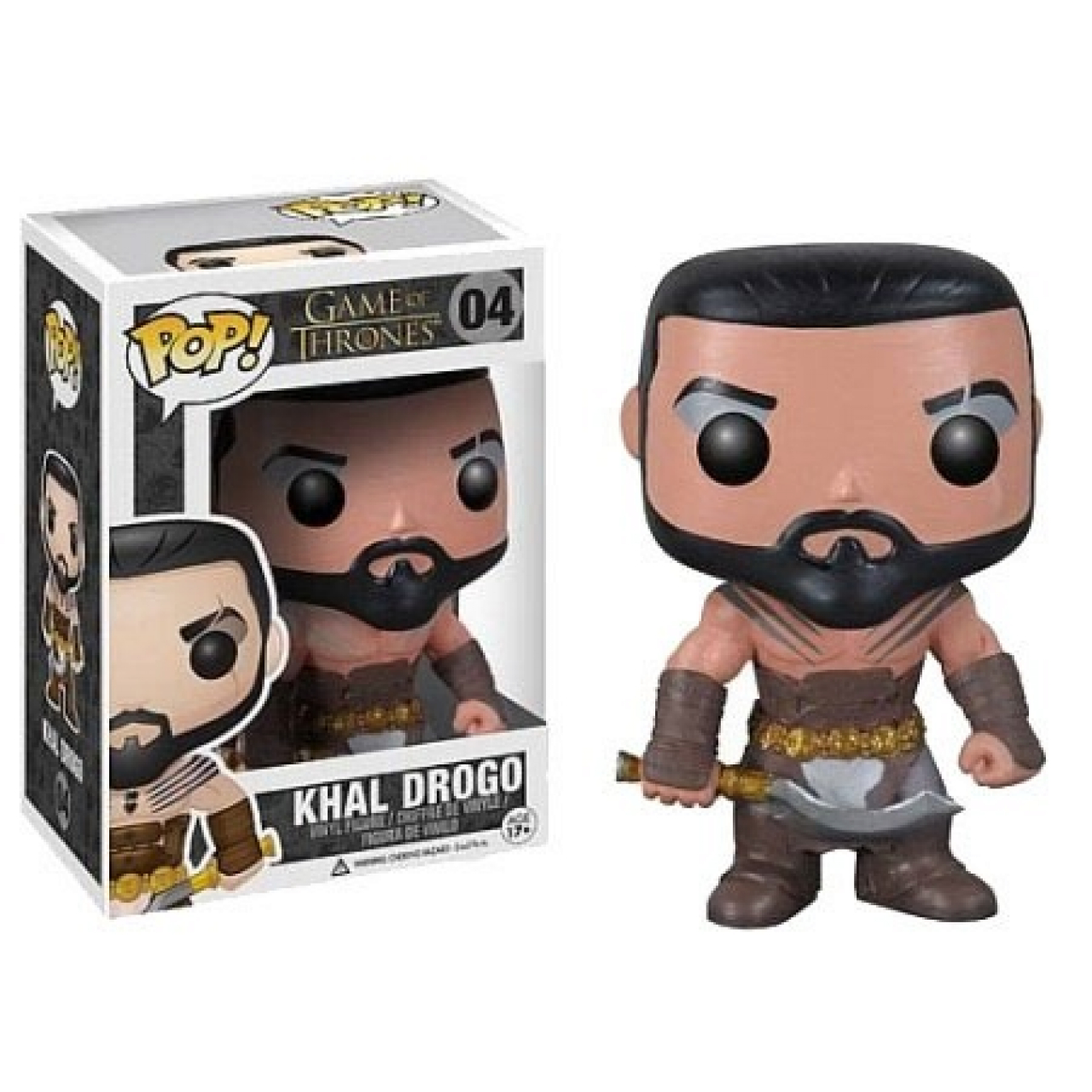 Game of Thrones POP! Vinyl Figure Khal Drogo 10 cm