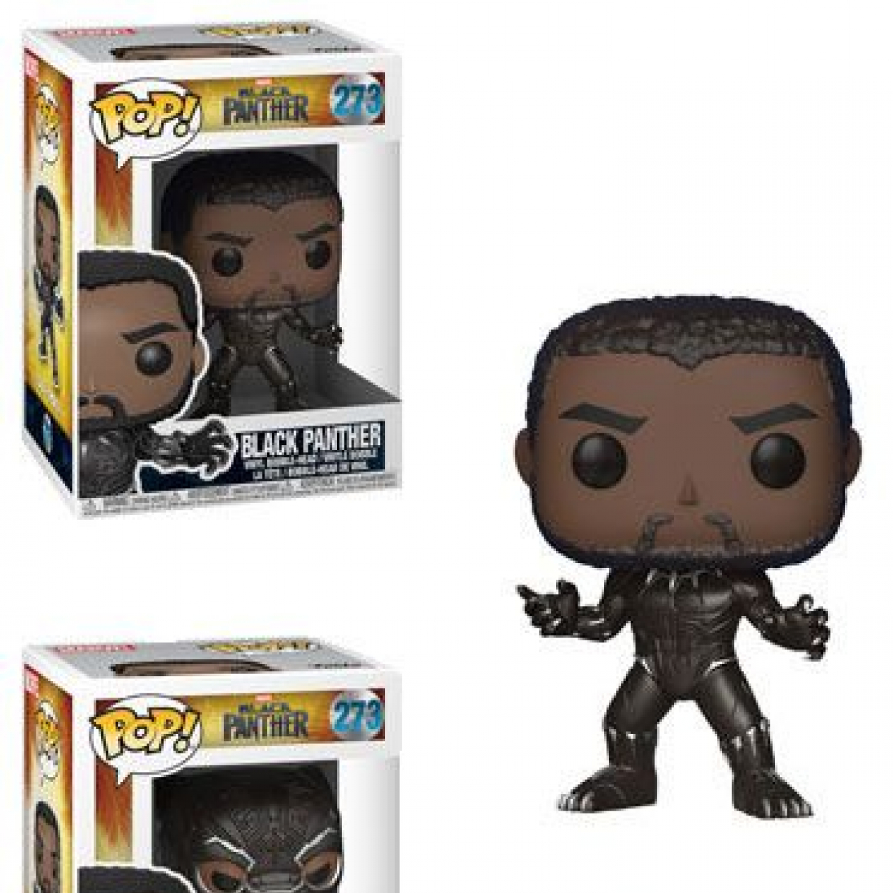Black Panther Movie POP! Movies Figures Black Panther 9 cm Assortment (6)