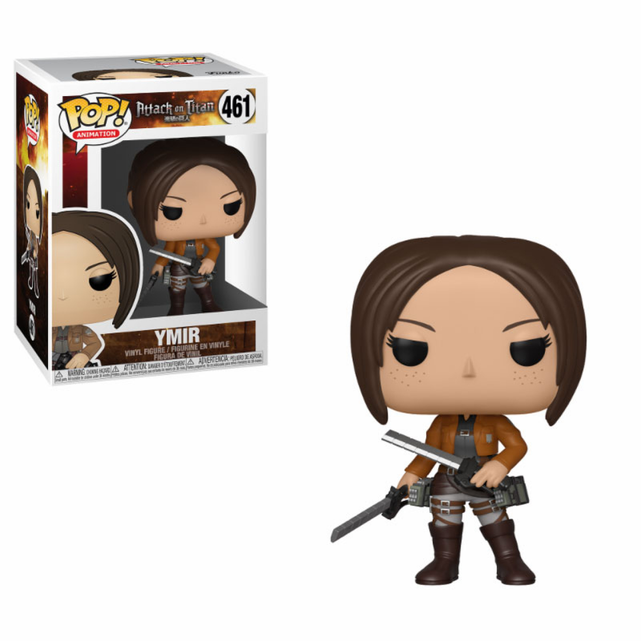 Attack on Titan POP! Animation Vinyl Figure Ymir 9 cm