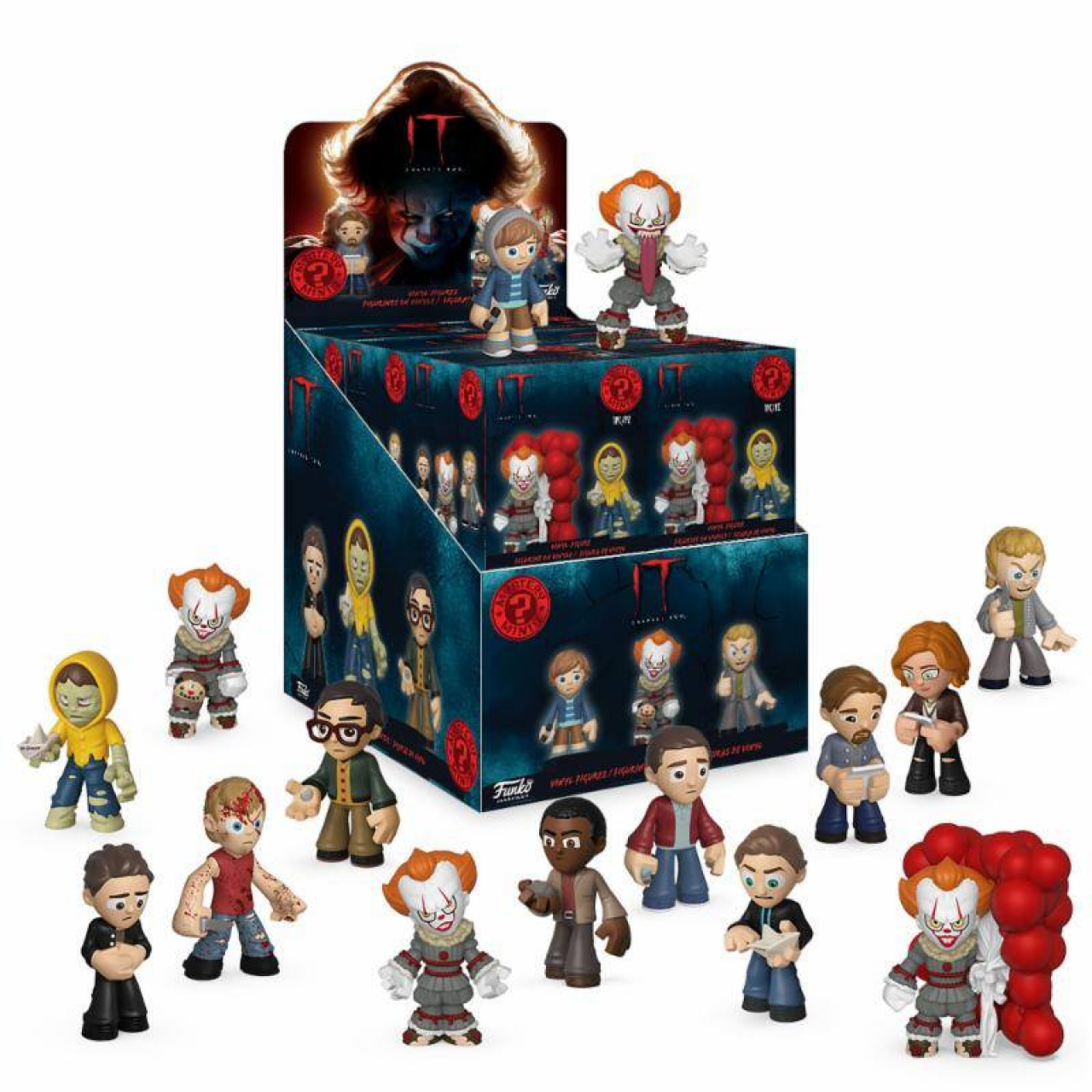 Stephen King's It 2 Mystery Mini Figures 5 cm Display (12)