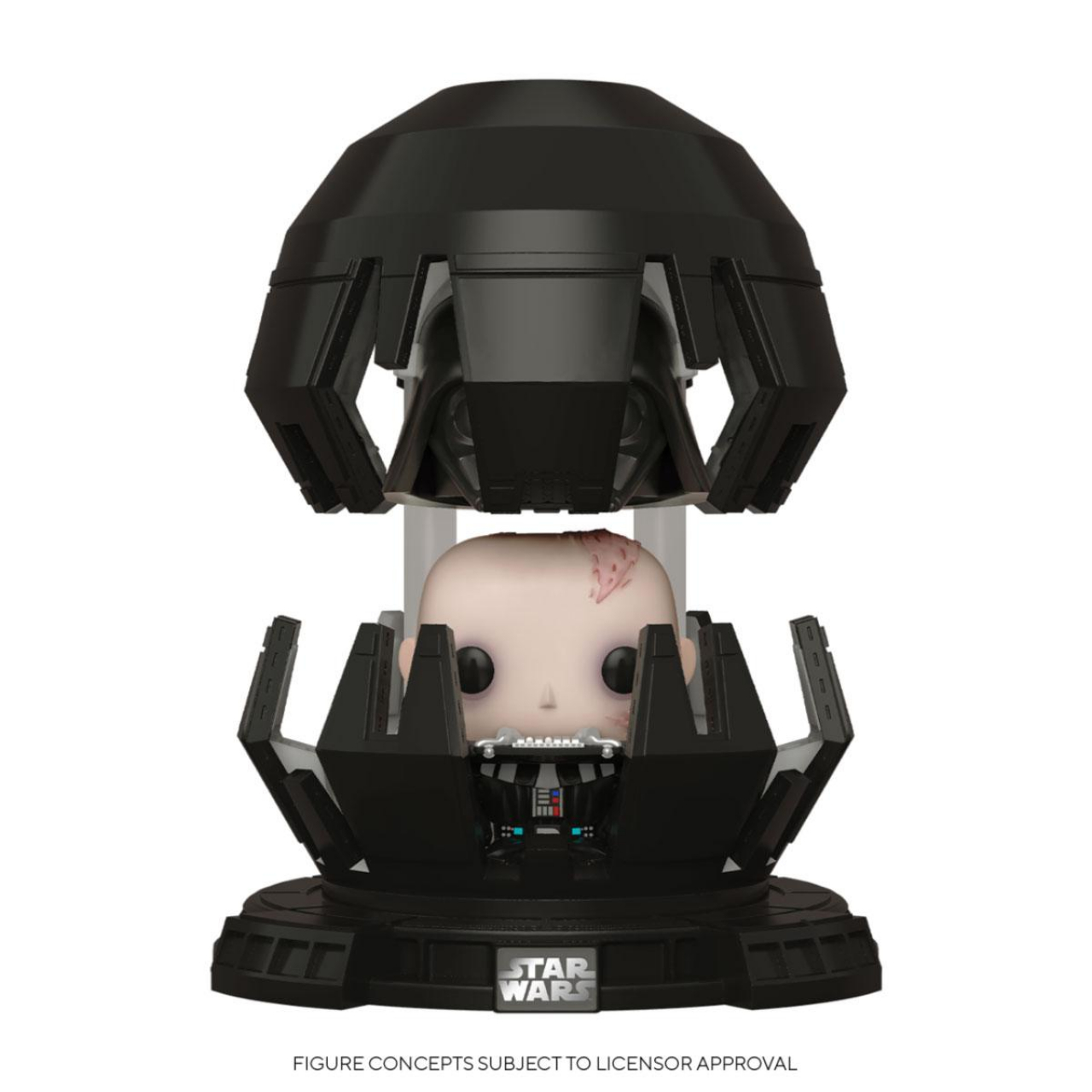 Star Wars POP! Deluxe Movies Vinyl Figure Darth Vader in Meditation Chamber 9 cm