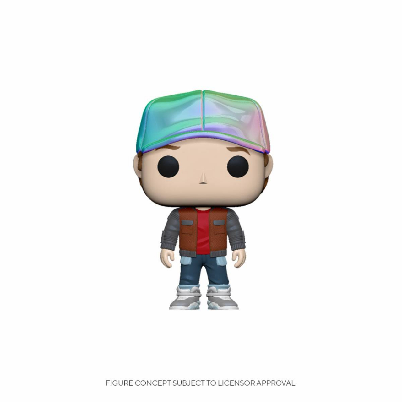 Back to the Future POP! Vinyl Figure Marty in Future Outfit 9 cm