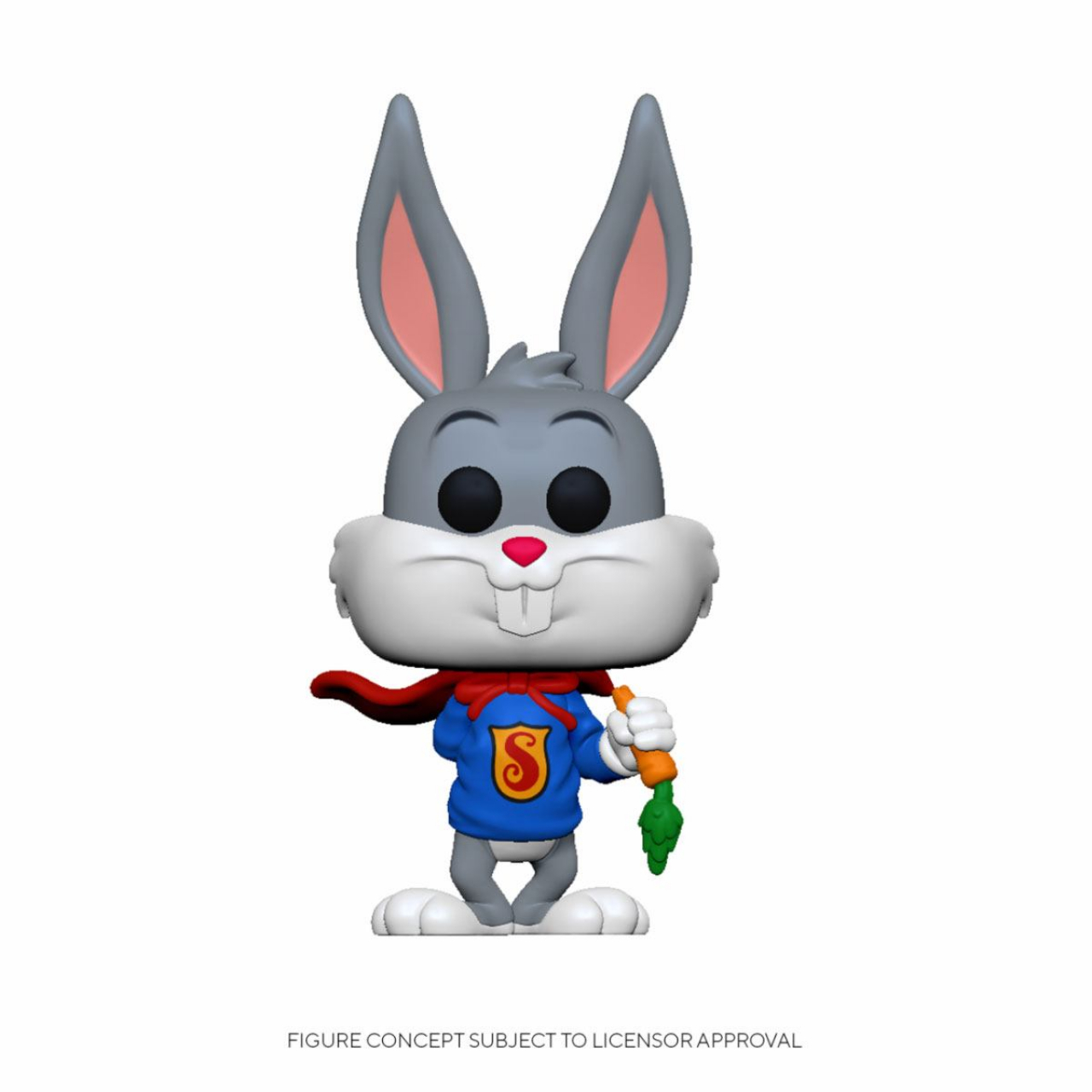 Bugs Bunny 80th Anniversary POP! Animation Vinyl Figure Bugs in Show Outfit 9 cm