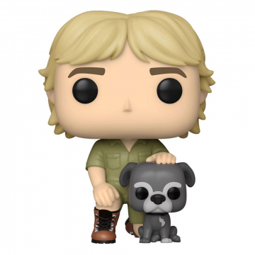 The Crocodile Hunter POP! TV Vinyl Figure Steve Irwin w/Sui 9 cm