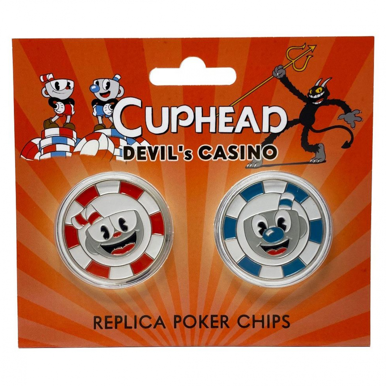 Cuphead Replicas Devil's Casino Poker Chips