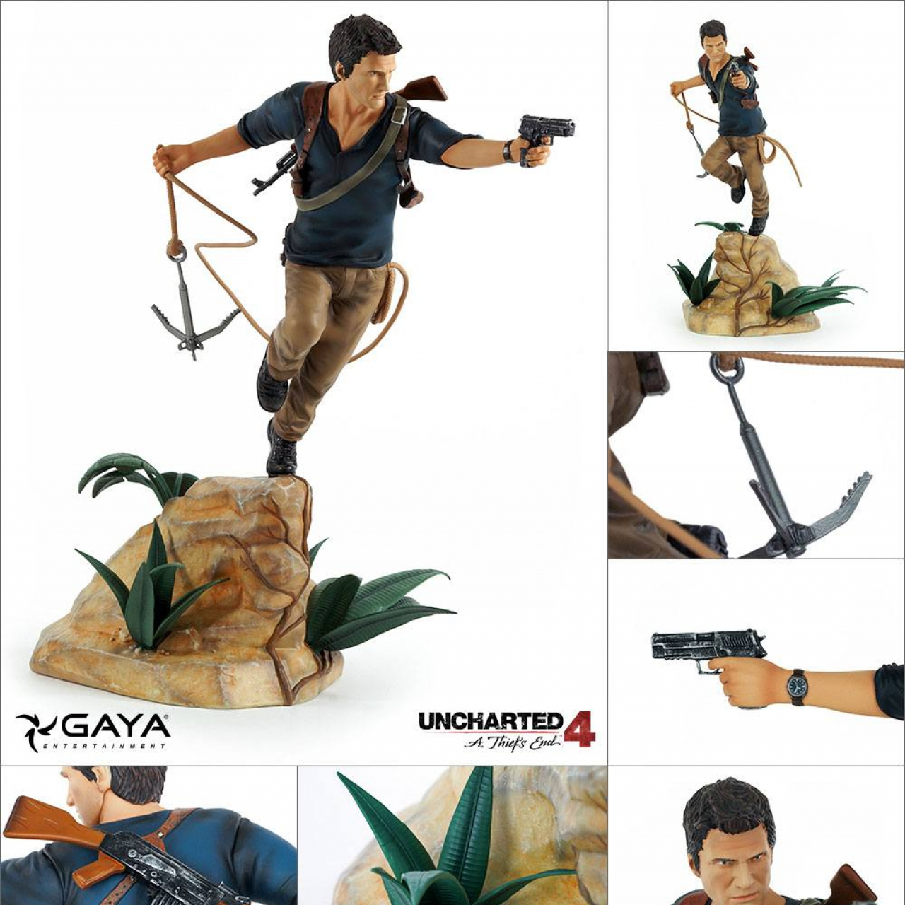 Uncharted 4 A Thief S End Pvc Statue Nathan Drake 30 Cm Otaku Square