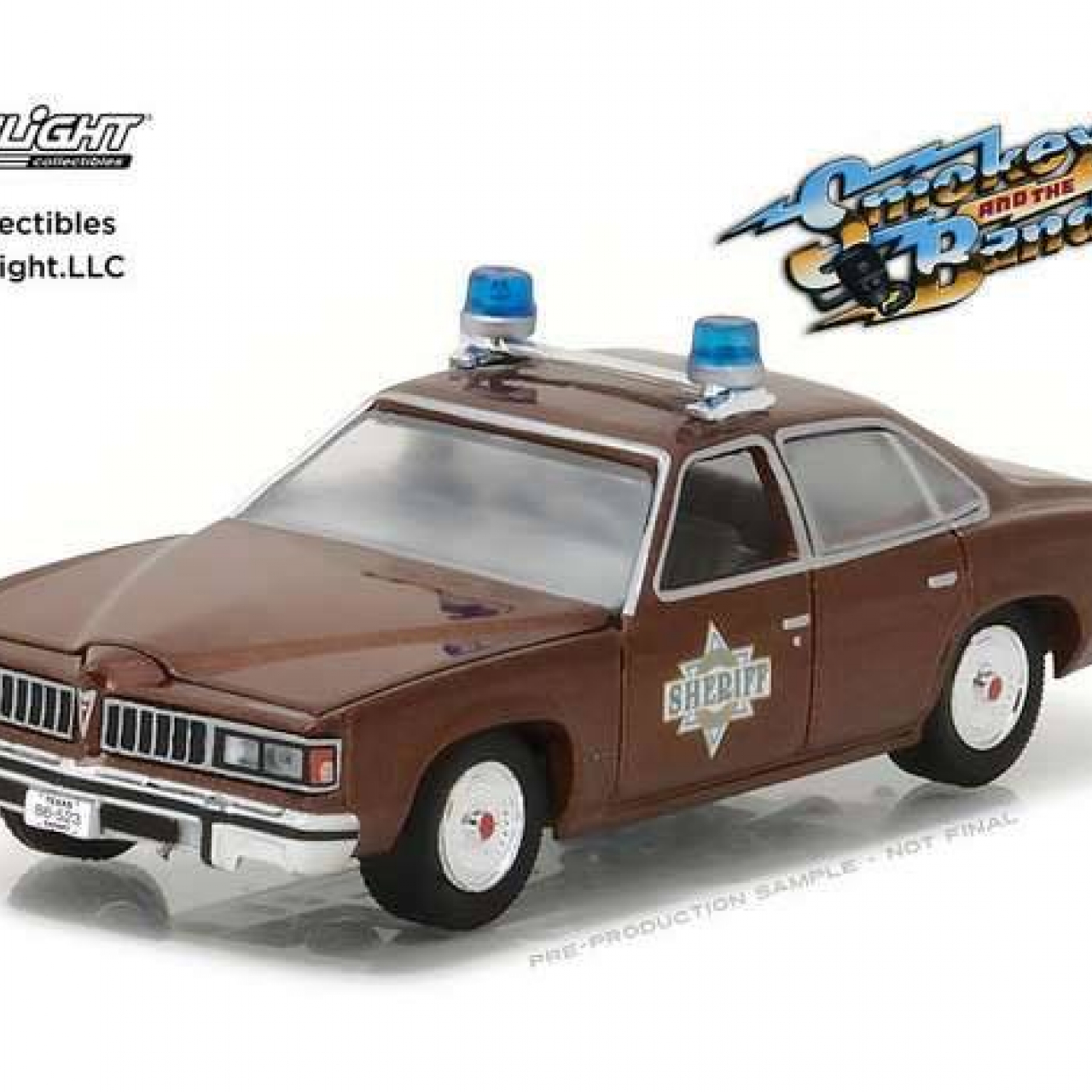 Smokey and the Bandit Diecast Model 1/64 1977 Sheriff Buford T. Justice's Pontiac LeMans