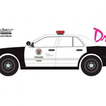 Drive (2011) Diecast Model 1/24 2001 Ford Crown Victoria Police Interceptor LAPD