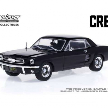 Creed (2015) Diecast Model 1/43 1967 Ford Mustang Coupe