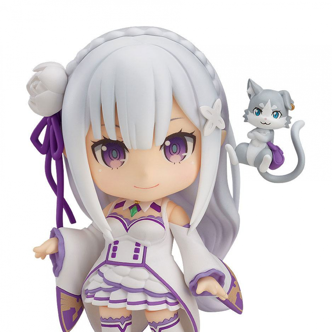 Re:Zero Starting Life in Another World Nendoroid Action Figure Emilia 10 cm