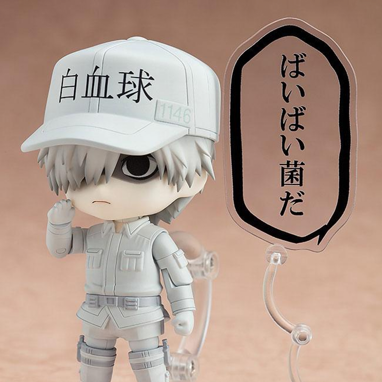 Cells at Work! Nendoroid Action Figure White Blood Cell 10 cm