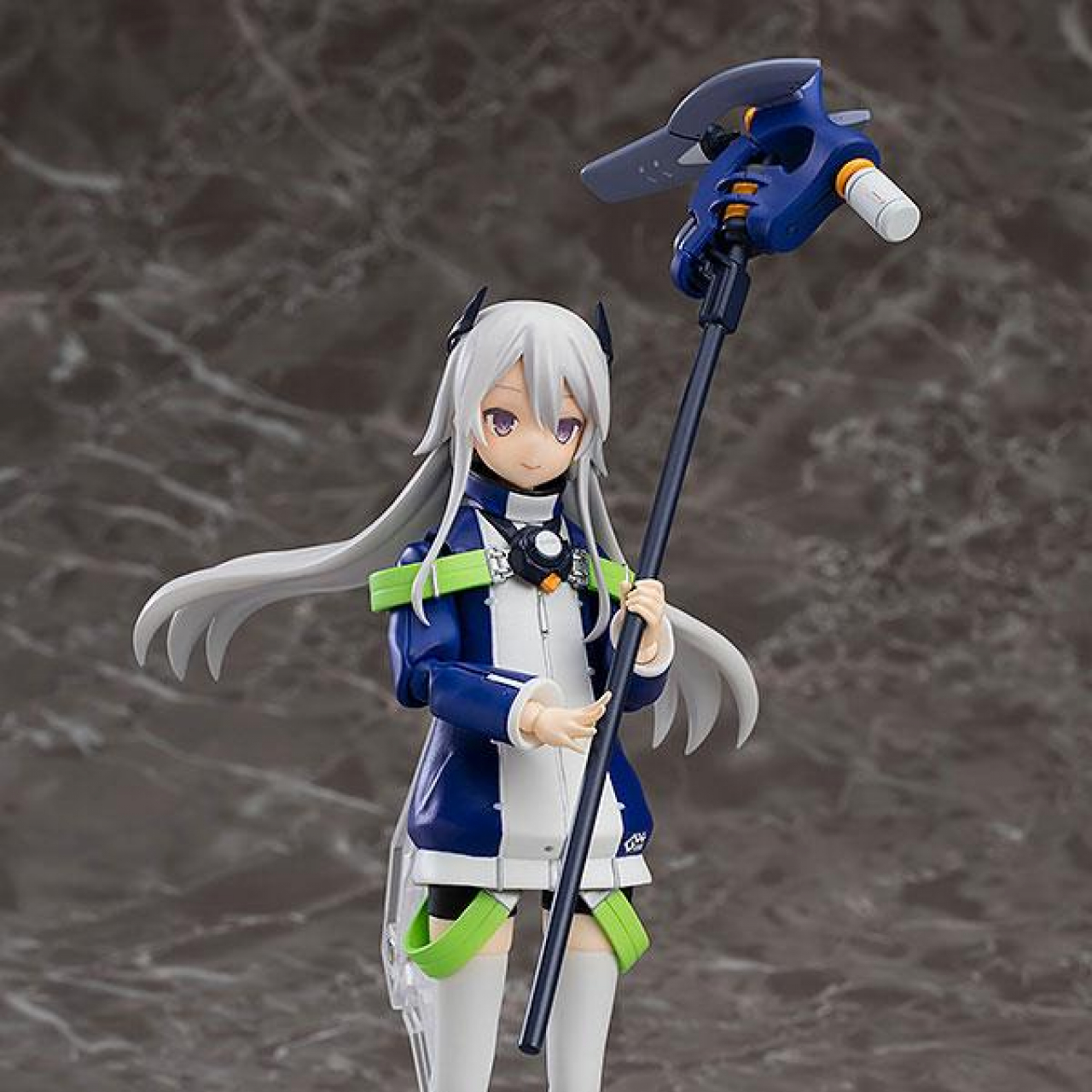 Original Character Navy Field 152 Act Mode Plastic Model Kit Mio & Type15 Ver. 2 20 cm