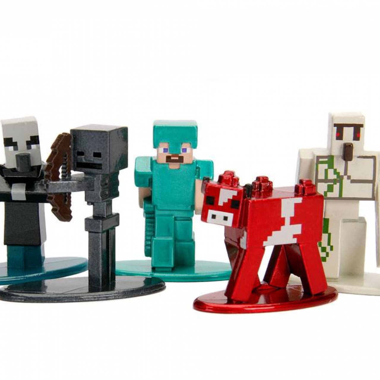 Minecraft Nano Metalfigs Diecast Mini Figures 5-Pack Wave 2 4 cm