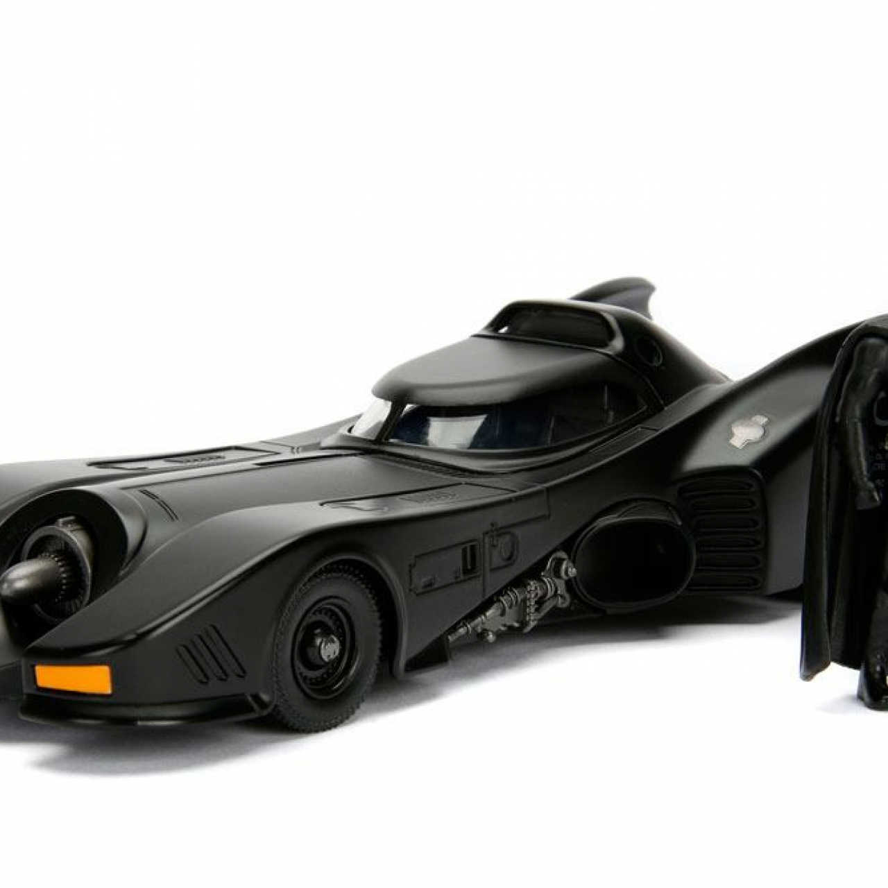 Batman Build N' Collect Diecast Kit 1/24 1989 Batmobile with Batman figure