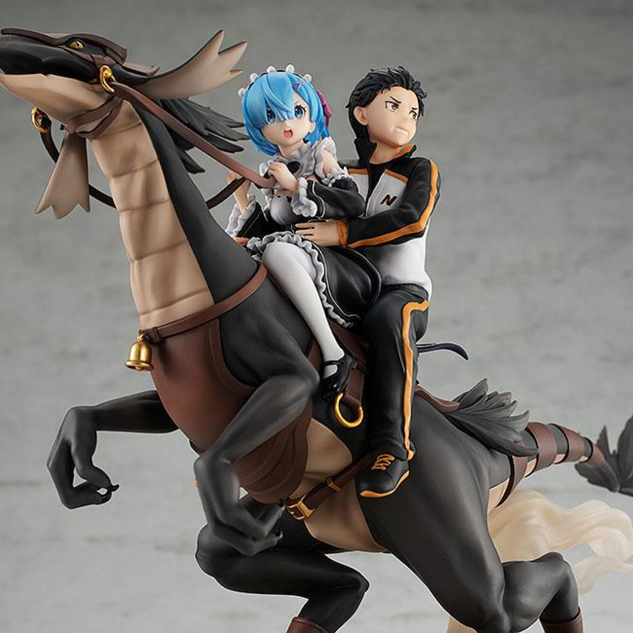 Re:ZERO -Starting Life in Another World- PVC Statue Rem & Subaru: Attack on the White Whale 30 cm