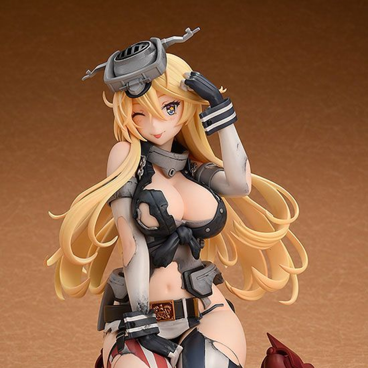 Kantai Collection PVC Statue 1/8 Iowa Half-Damaged Light Armament Ver. 14 cm