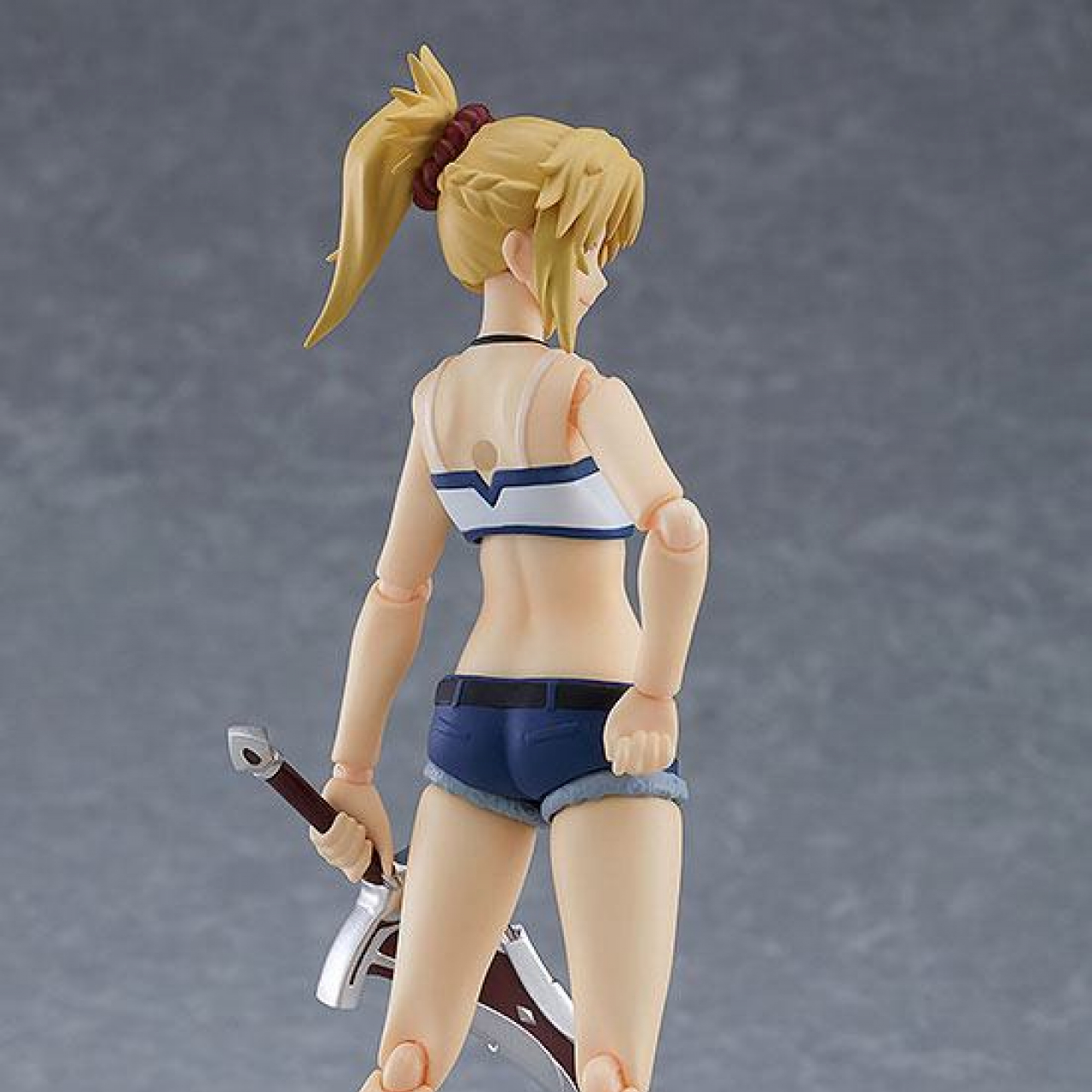Fate/Apocrypha Figma Action Figure Saber of Red Casual Ver. 14 cm