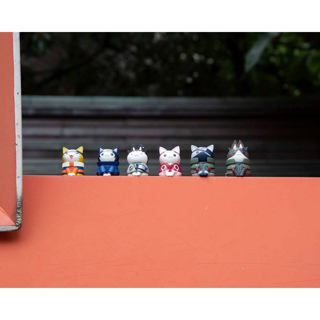 Naruto Shippuden Nyaruto! Trading Figure 3 cm Cats of Konoha Village Assortment (8)