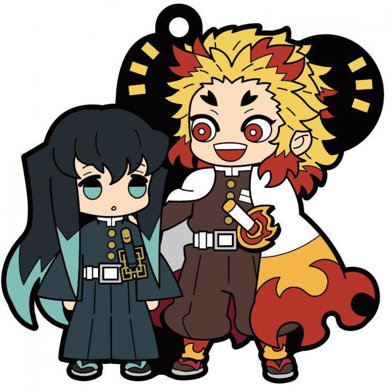 Demon Slayer: Kimetsu no Yaiba Rubber Mascot 6 cm Assortment Vol. 2 (6)