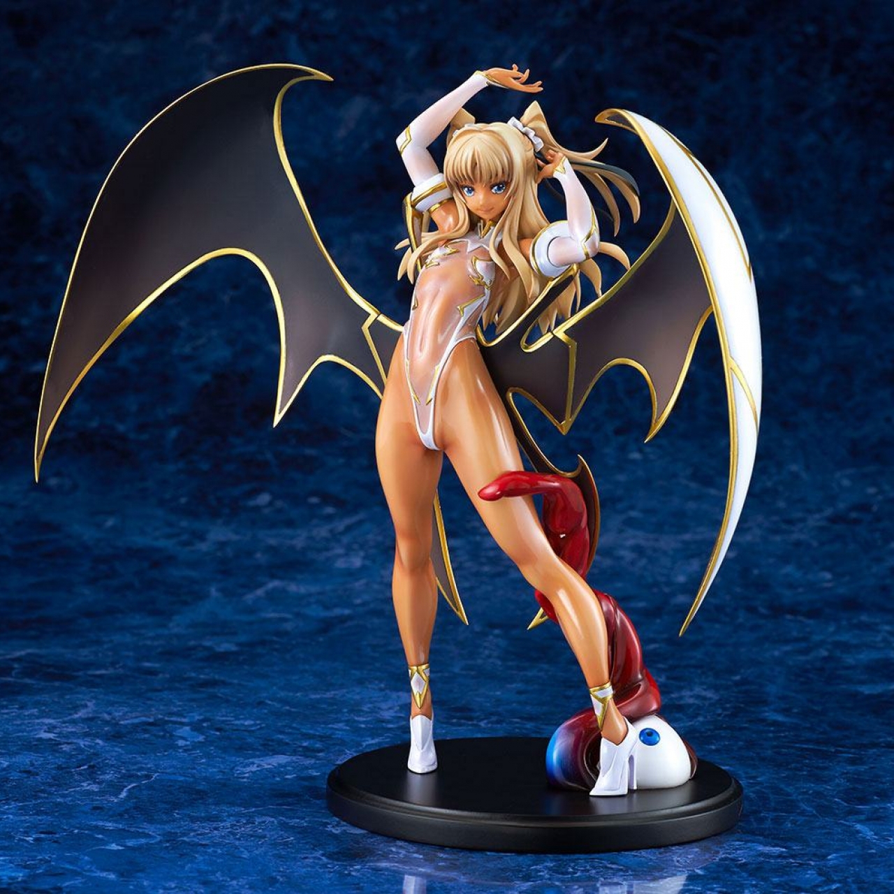 Tentacle and Witches PVC Statue 1/6 Lily Ramses Futaba Bikyaku Misetsuke Ver. 25 cm
