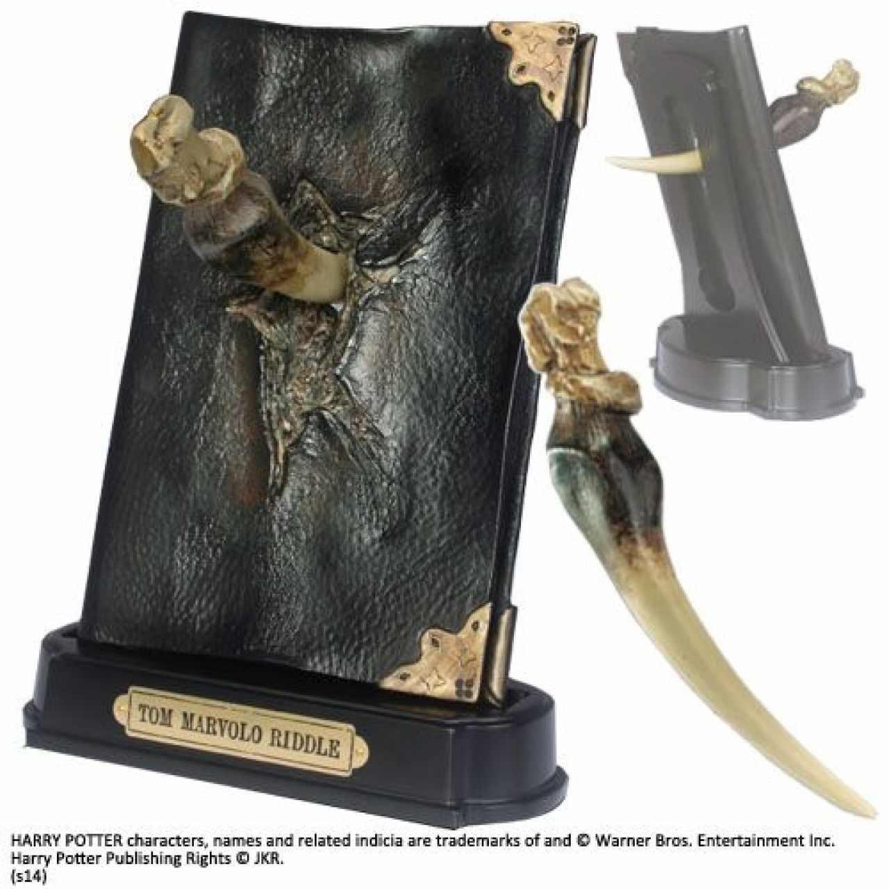 Harry Potter Replica 1/1 Basilisk Fang and Tom Riddle Diary