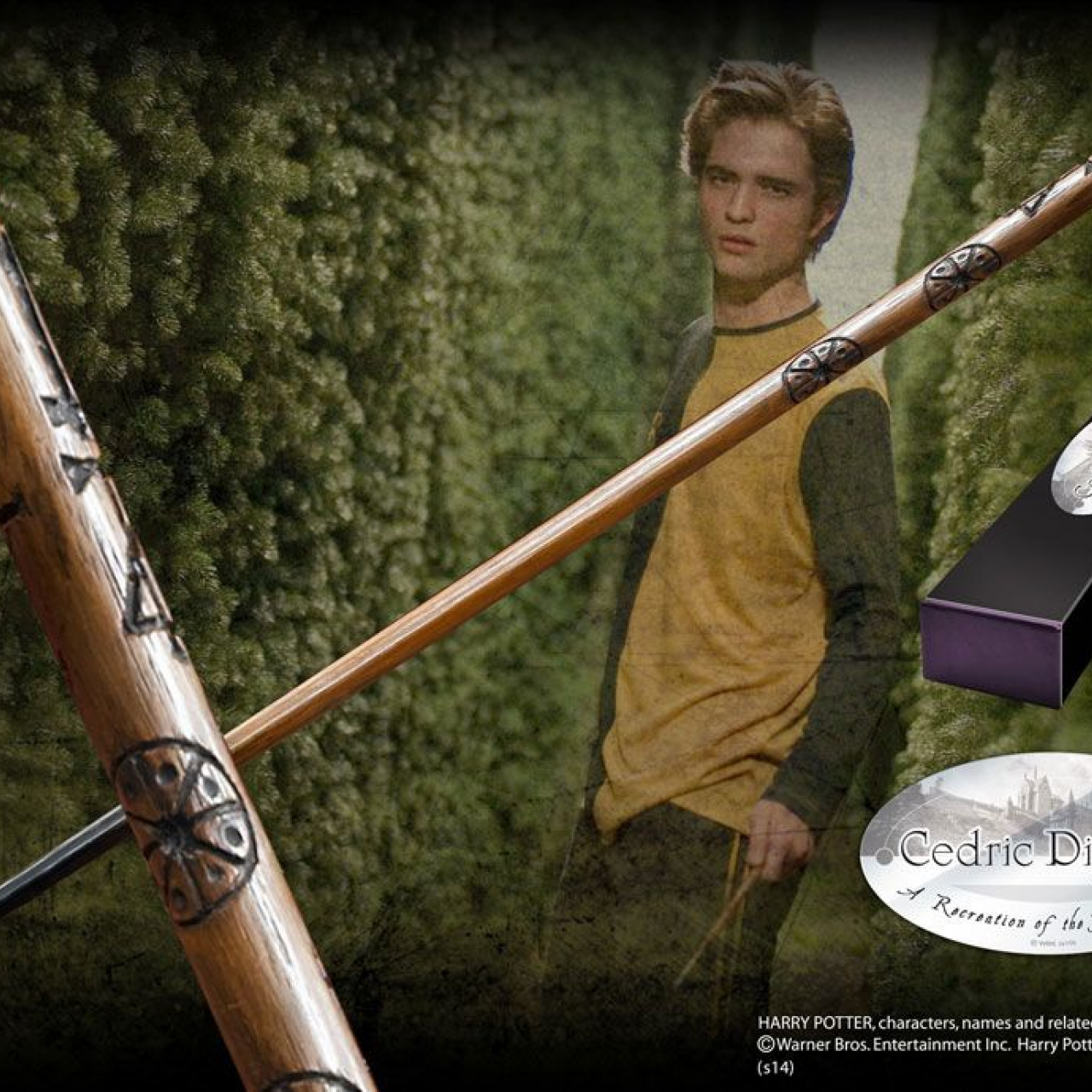 Harry Potter Wand Cedric Diggory (Character-Edition)