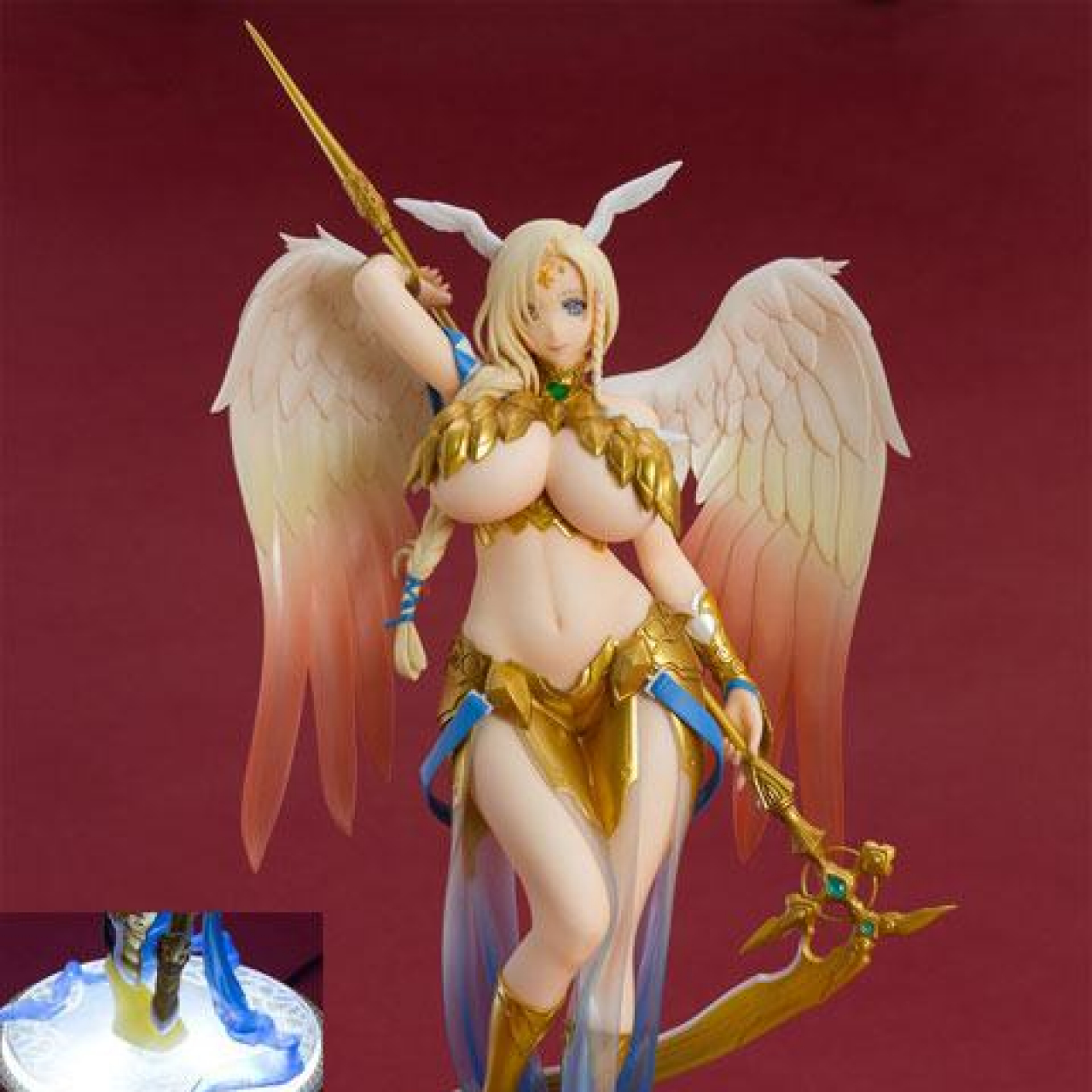The Seven Heavenly Virtues Kindness Statue 1/8 Sariel Special Base 27 cm