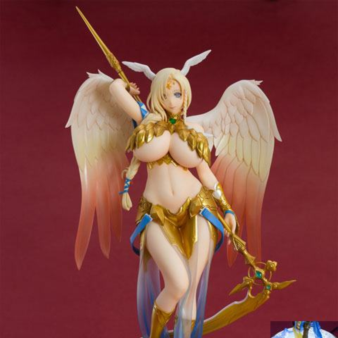 The Seven Heavenly Virtues Kindness Statue 1/8 Sariel Special Base & Poster 27 cm
