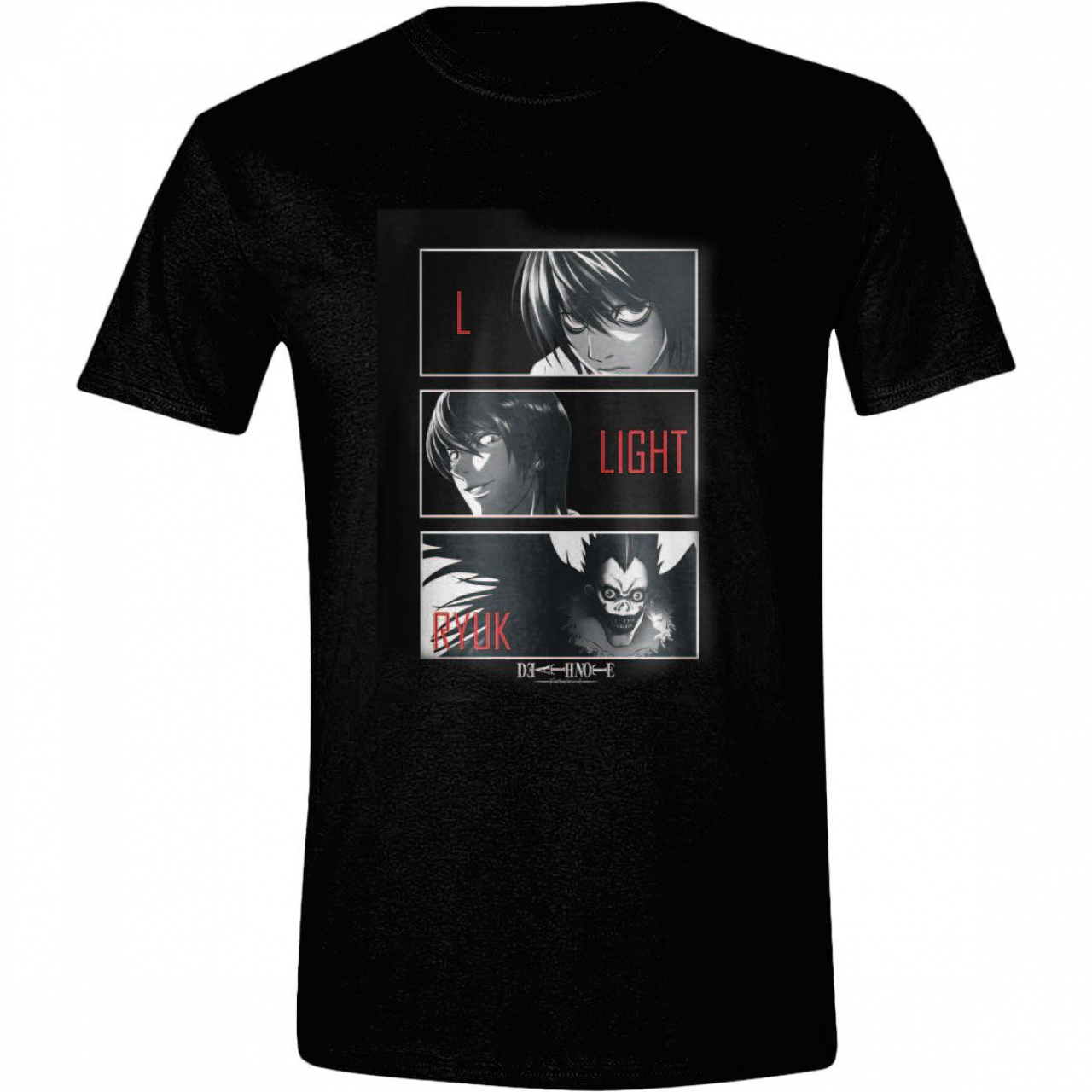 Death Note T-Shirt L, Light, Ryuk