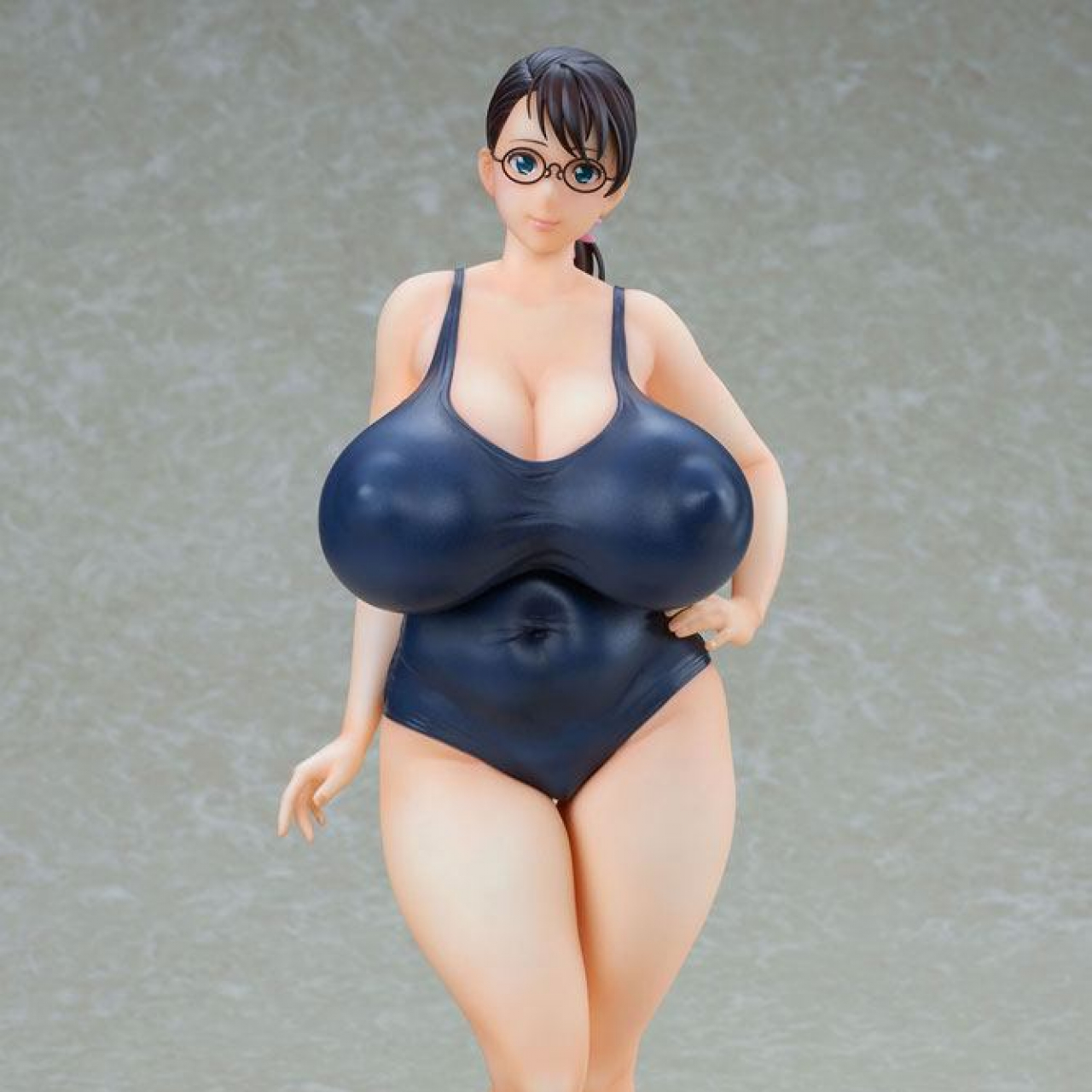 Queen´s Blade Beautiful Fighters PVC Statue 1/7 Weapon Seller Cattleya Navy Swimsuit Ver. 25 cm