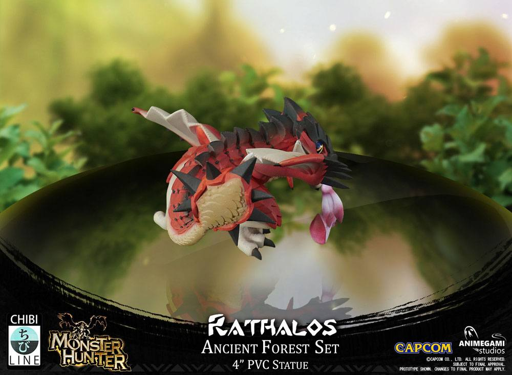 Monster Hunter PVC Statue Rathalos Exclusive Edition 10 cm
