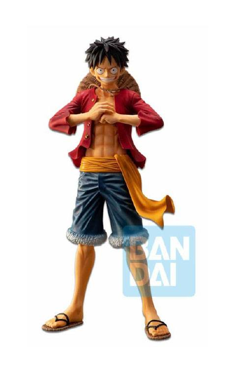 One Piece Ichibansho PVC Statue The Bonds of Brothers Luffy 28 cm