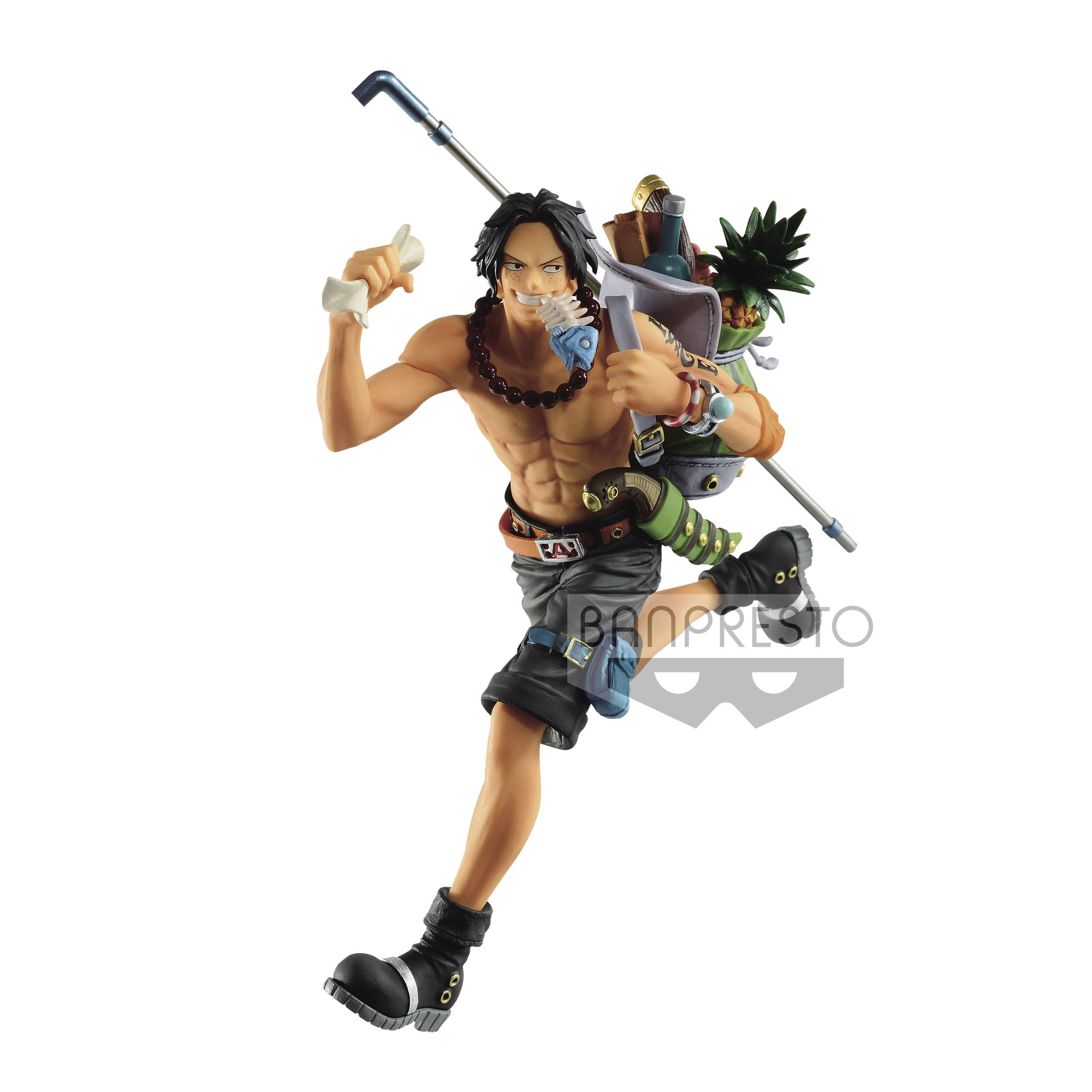 One Piece Three Brothers PVC Statue Portgas D. Ace 14 cm