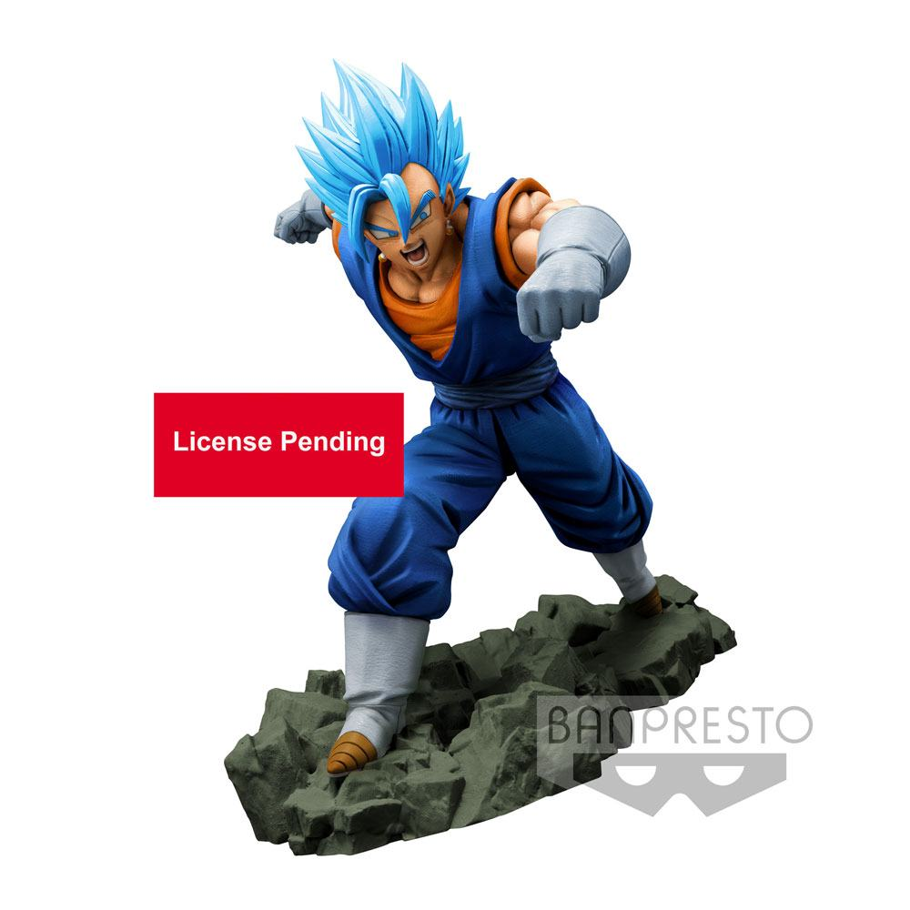 Dragonball Z Dokkan Battle PVC Statue Super Saiyan God Super Saiyan Vegetto 16 cm