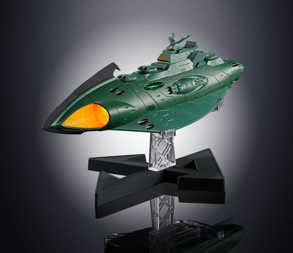 Space Battleship Yamato 2202 Soul of Chogokin Diecast Model GX-89 Garmillas Space Cruiser 24 cm