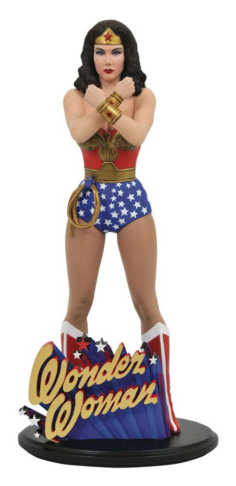 DC Comic Gallery PVC Statue Linda Carter Wonder Woman 23 cm