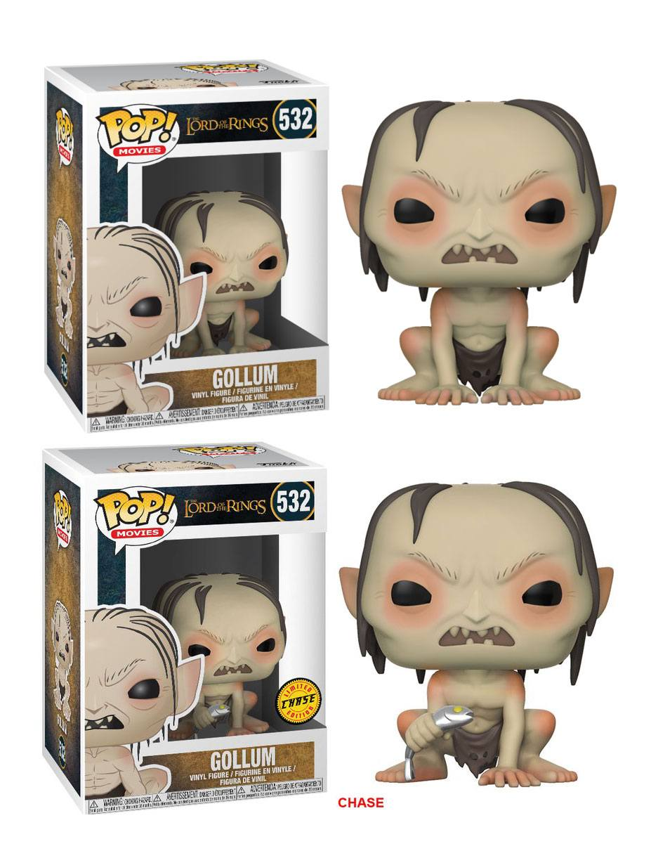 Lord of the Rings POP! Movies Vinyl Figures Gollum 9 cm Assortment (6)