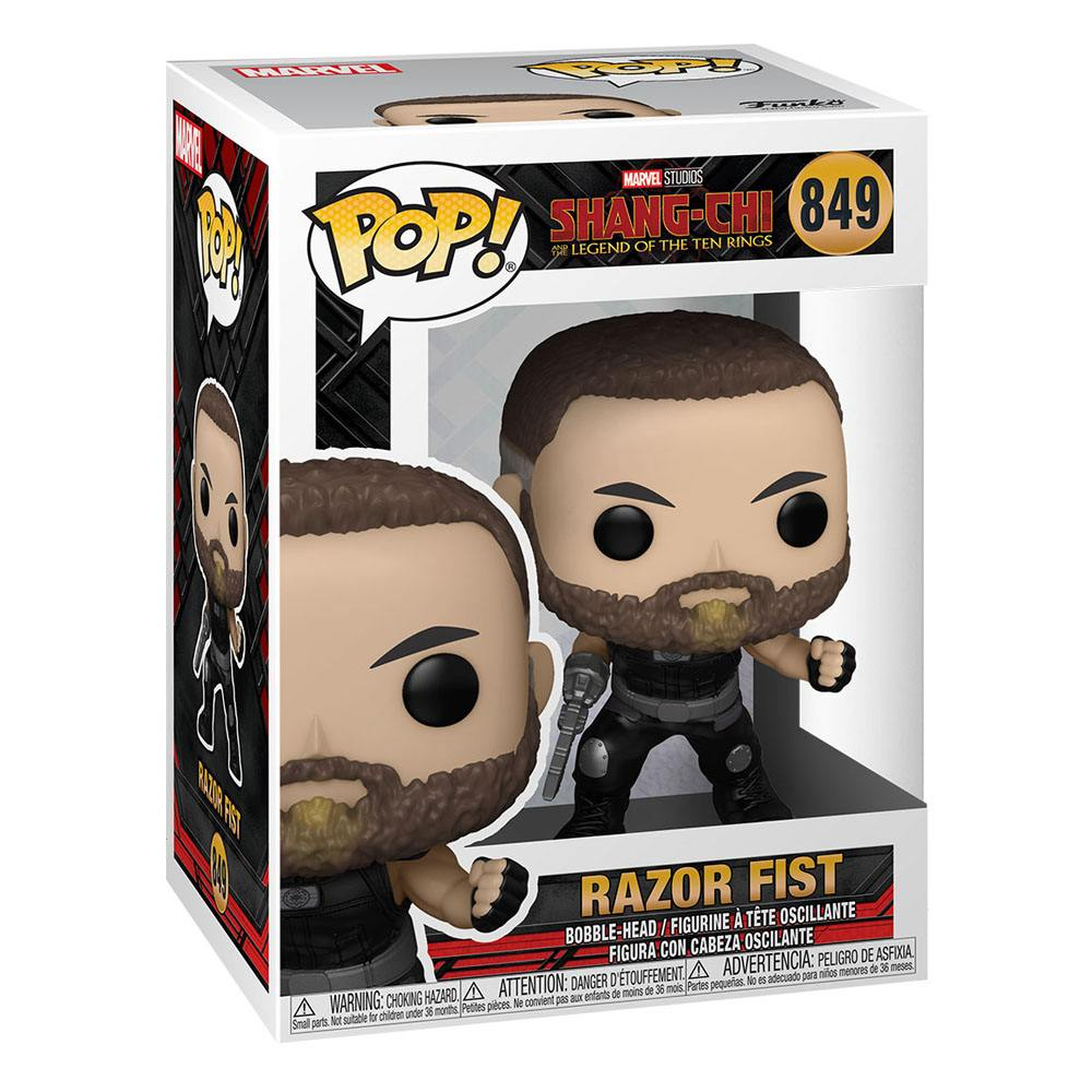 Shang-Chi and the Legend of the Ten Rings POP! Vinyl Figure Razor Fist 9 cm