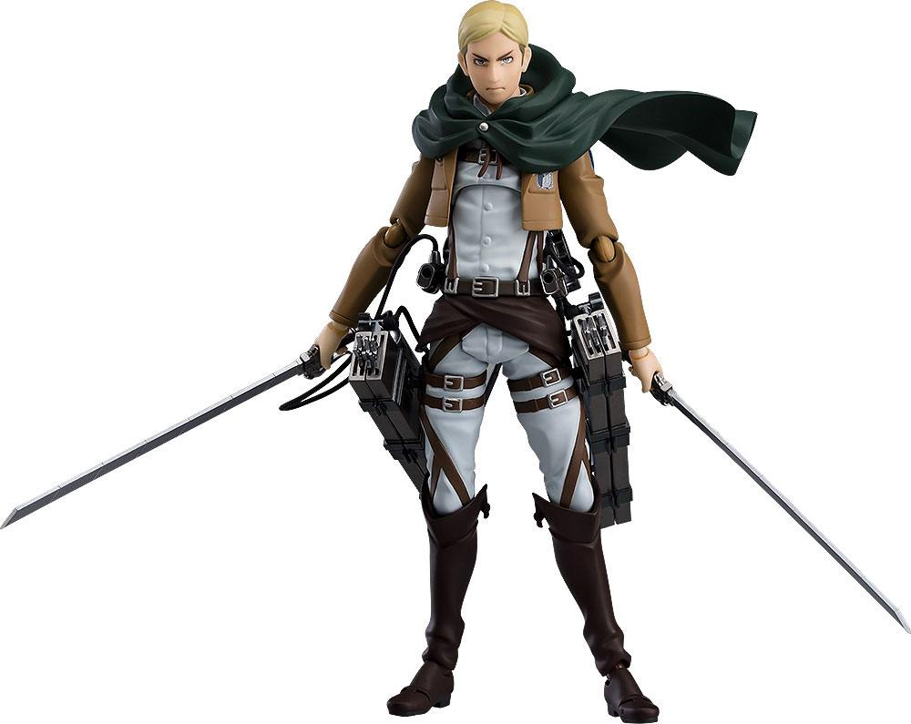 Attack on Titan Figma Action Figure Erwin Smith 15 cm