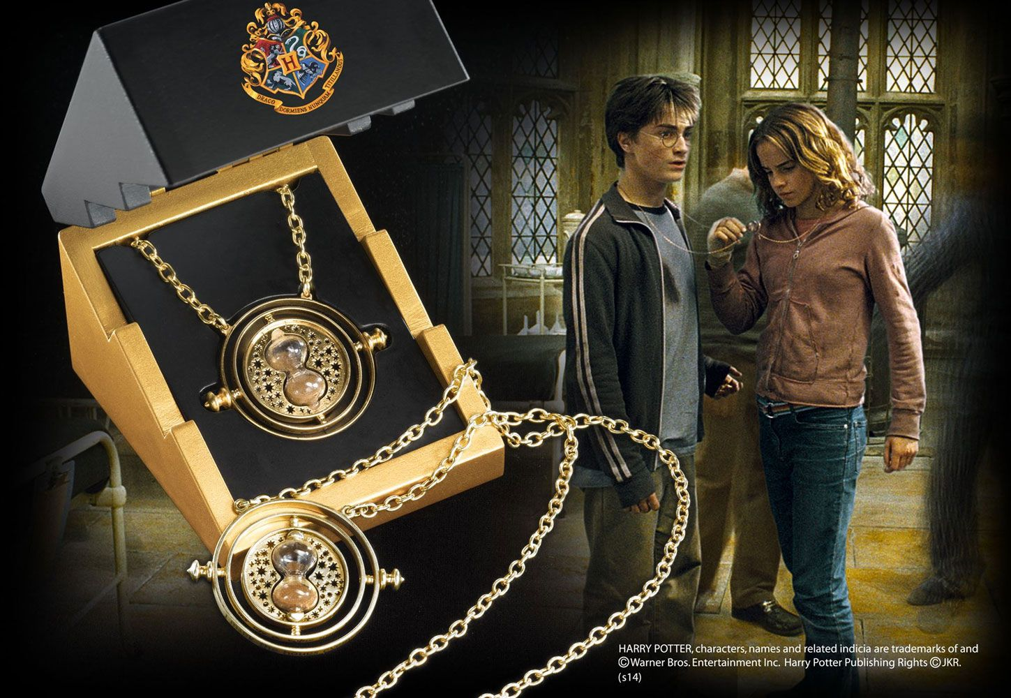 Harry Potter - Time-Turner Sterling Silver gold plated